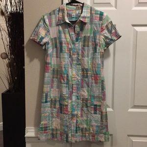 Talbots Patchwork Dress